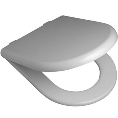 Metro Toilet Seat - Wall Hung Pans - Soft-Close Hinge [112017]
