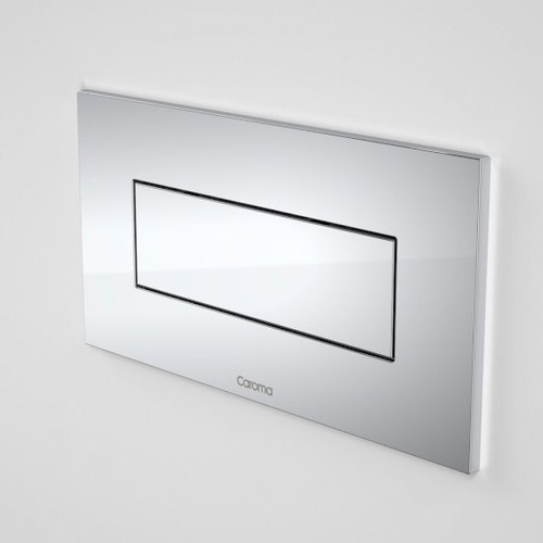 Invisi Series II® Rectangle Metal Single Flush Plate and Buttons - Satin [140509]