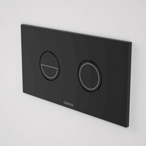Invisi Series II® Round Dual Flush Plate & Buttons (Metal) - Matte Black [139900]