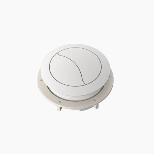 Cistern Flush Button - White [165358]