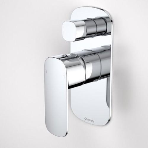 Contura Bath/Shower Mixer With Diverter - Chrome [153041]