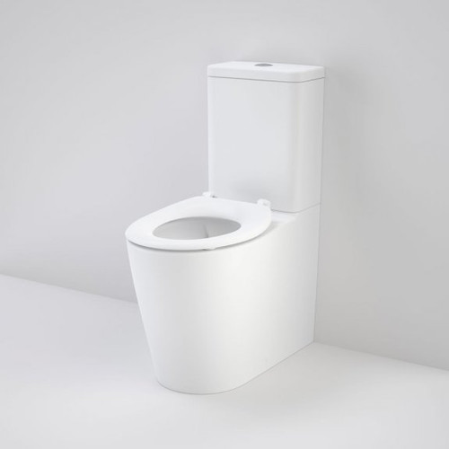 Care 660 Ambulant Cleanflush Easy Height Back Entry Suite with Single Flap Seat White [191974]