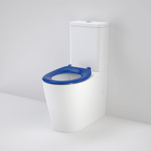 Care 660 Ambulant Cleanflush Easy Height BI Suite with Single Flap Seat Sorrento Blue [191982]