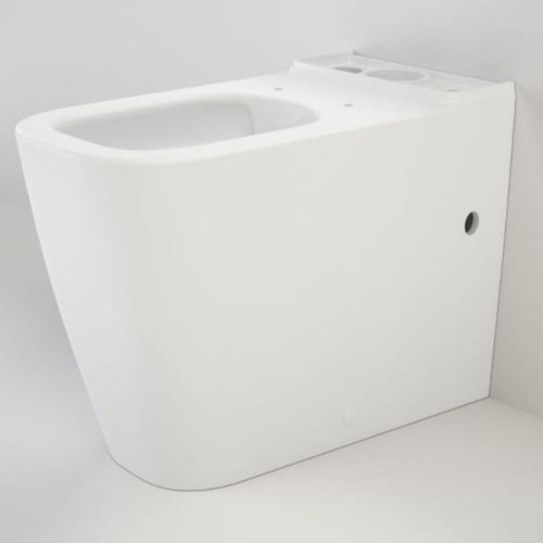 Luna Square Cleanflush Wall Faced Close Coupled Pan (NO SEAT & NO CISTERN) [192054]