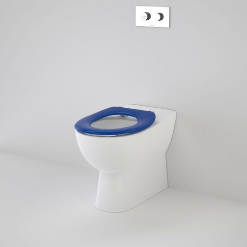 Leda Care Invisi Series II® Wall Faced Suite with Caravelle Care Single Flap Seat - Sorrento Blue [192034]