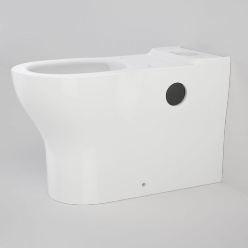 Opal Cleanflush Easy Height Wall Faced Couple Pan with Armrest Holes (NO SEAT & NO CISTERN) [192077]