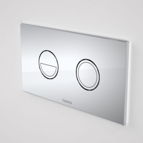 Invisi Series II® Round Dual Flush Plate & Buttons (Metal) Satin [192453]