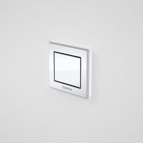 Invisi Series II® Rectangular Single Flush Custom Button Chrome [192455]