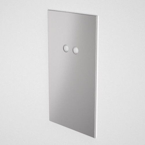 Invisi Series II Large Care Dual Flush Access Panel Pack - Stainless Steel [192532]