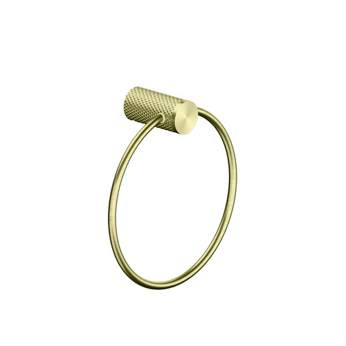 Towel Ring-Brushed Gold [195813]