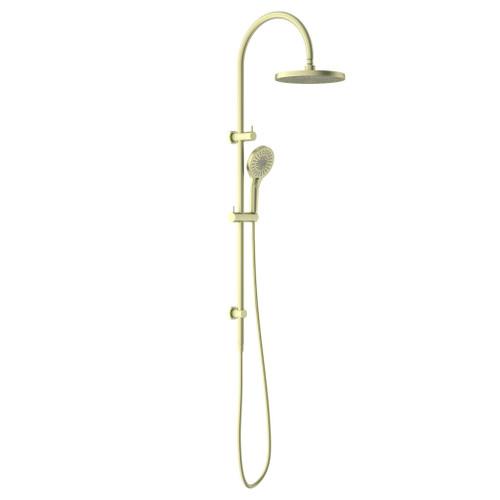 Twin Shower Set-Brushed Gold [195850]