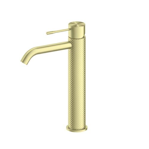 Tall Basin Mixer -Brushed Gold [195784]