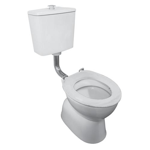 Plaza Assist Sn Vc Link Toilet Suite White S Trap [135849]