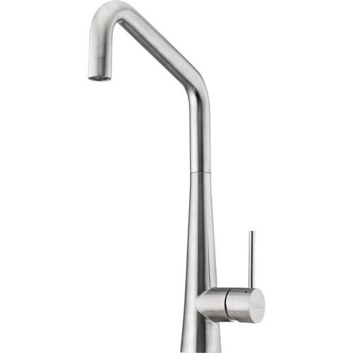 Oliveri Essente Stainless Steel Square Goose Neck Mixer [153583]
