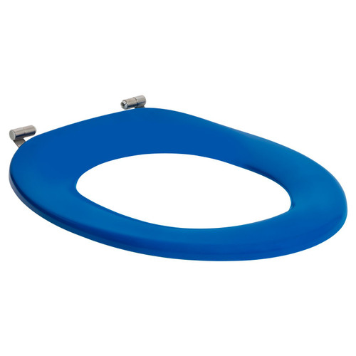 Assist Single Flap Toilet Seat Blue [198436]