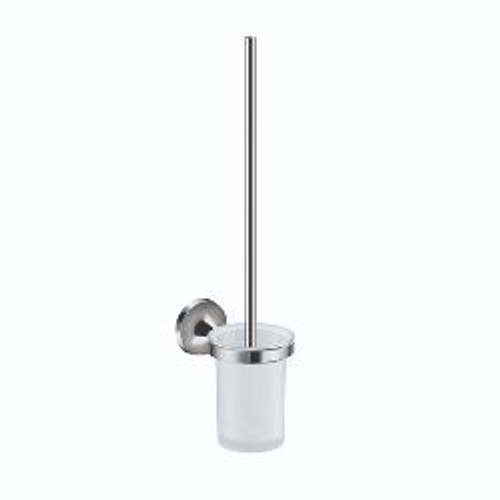Swift Wall Toilet Brush & Holder Glass [198296]