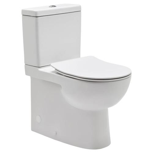 Toledo Xtra Height Rimless Ftw Toilet Suite Incl Sc Seat & Extd Cnctr [198871]