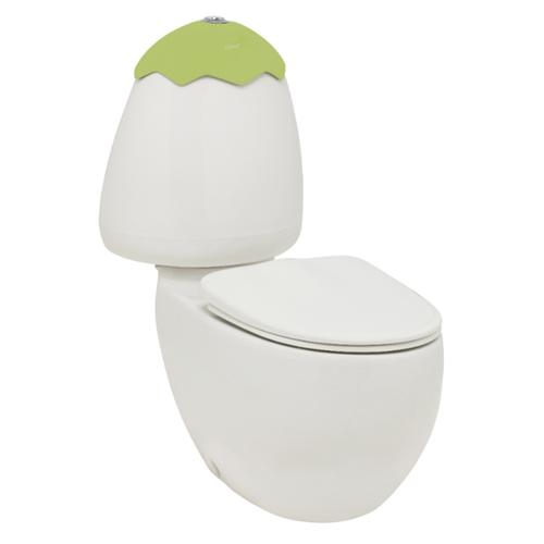 Egg Junior C/C Toilet Suite Kiwi Lid Incl Sc Seat & Extd Cnctr [198591]