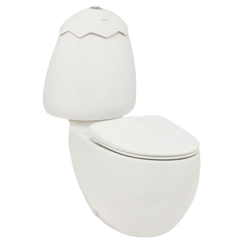 Egg Junior C/C Toilet Suite White Lid Incl Sc Seat & Stnd Cnctr [198598]