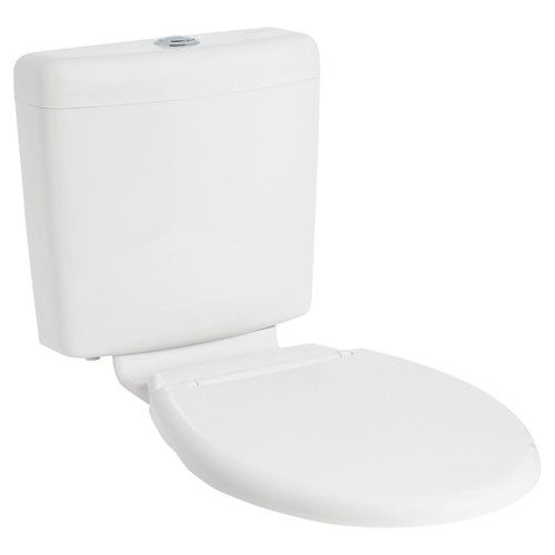 Mode Ii Plastic Cistern With Seat & Link Wels 4 Star [198621]