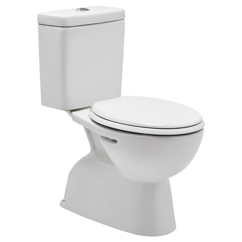Milano Close Coupled Toilet Suite S Trap Pan-Pack [198626]