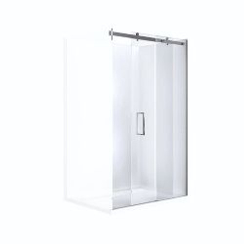 Barossa Slider Screen 1500 Door Panel Set Chrome [119858]