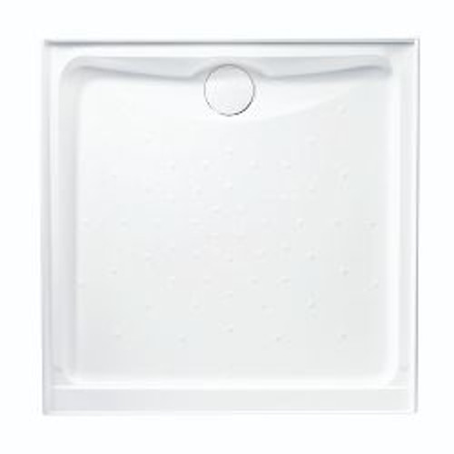 Evo Polymarble Base 1000X1000 R/O Wh Lh-Rtn Anti-Slip [198614]