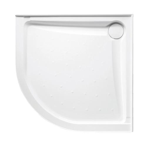 Evo Polymarble Base Curv Cnr 914X914 R/O Wh Anti-Slip [198617]