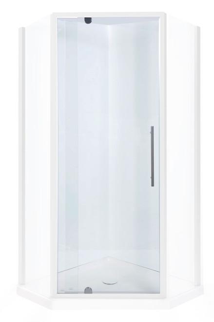 Flinders Neo Screen Corner 900mm Door Chrome - Return to be ordered separately [198940]
