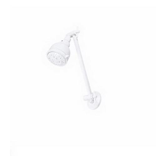 Bermuda II 3 Function Hi-Rise All Directional Shower 270mm White [044248]
