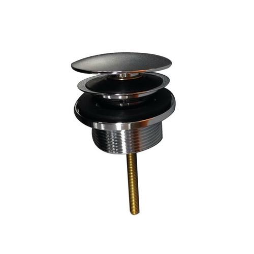 Plug & Waste Covered 32-40mm Anti-Vandal Chrome [021506]