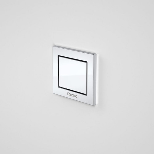Invisi Series II Rectangular Single Flush Custom Button Kit Satin [140510]
