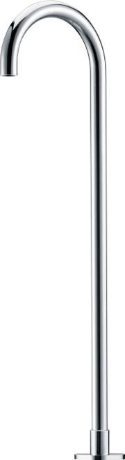 Matcha (Round) Floor Mounted Bath Spout Chrome [250002]