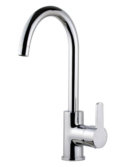 Magnolia (Ah!) Goose Neck Sink Mixer Chrome Wels 4 Star [250040]