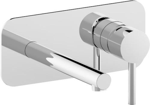 Shea Wall Plate Mixer Chrome [250062]