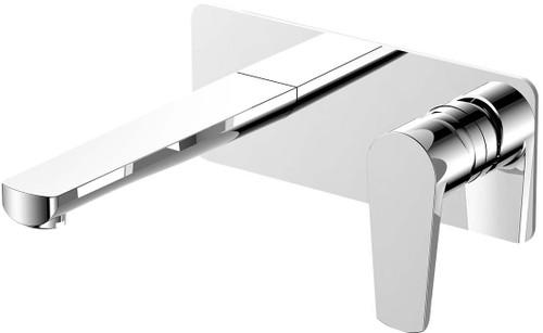 Argan Wall Plate Mixer Chrome [250074]