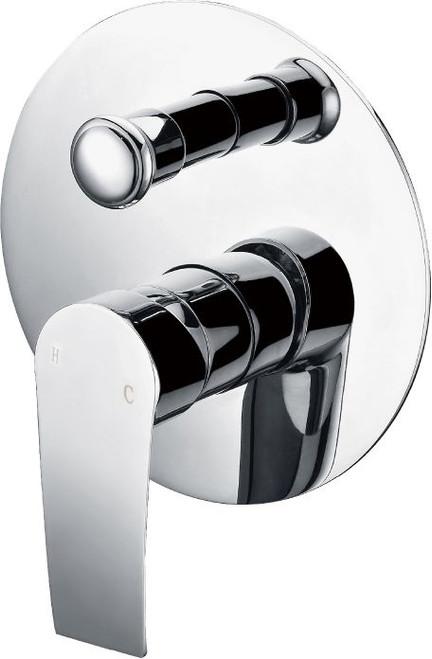Iris (Contour) Shower Diverter Mixer Chrome [250092]