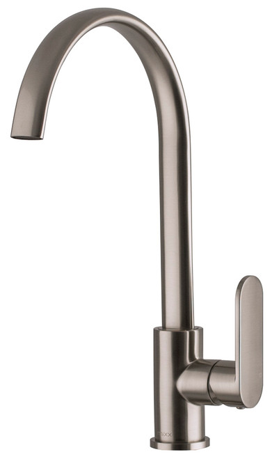 Saffron Sink Mixer Brushed Nickel [250147]
