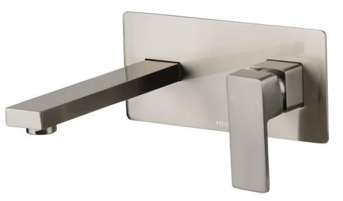 Sage Wall Plate Mixer Brushed Nickel [250175]