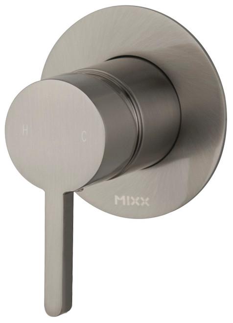Aloe Shower Mixer Brushed Nickel [250187]