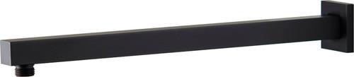 Chai (Mixx Square) 380Mm Straight Shower Arm Matt Black [250204]
