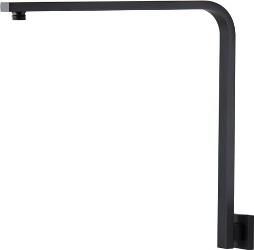 Chai (Mixx Square) High Rise Shower Arm Matt Black [250206]
