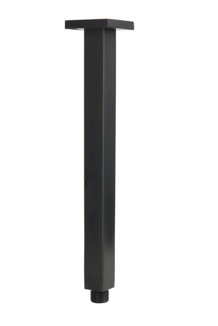Chai (Mixx Square) 300Mm Dropper Arm Matt Black [250208]