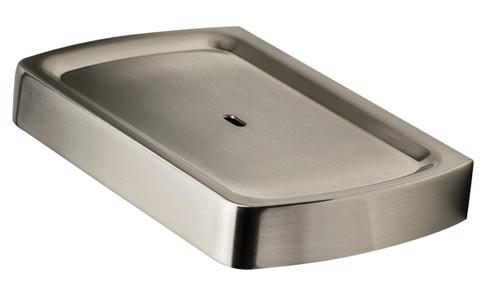 Sandalwood (Surrey) Square Soap Dish Brushed Nickel [250262]