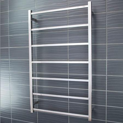 Square Towel Ladder 7 Bar 700 x 1100mm Mirror Polished [117552]