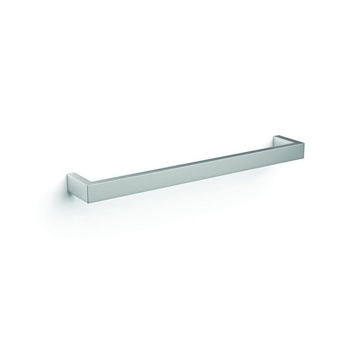 Thermorail Square Single Bar Heated Towel Rail 23W 632x40mm Polished Stainless Steel [123987]