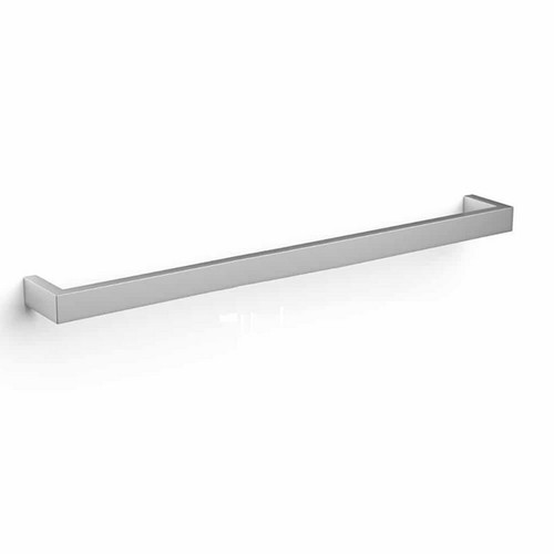 Thermorail Square Single Bar Heated Towel Rail 30W 832x40mm Polished Stainless Steel [123988]
