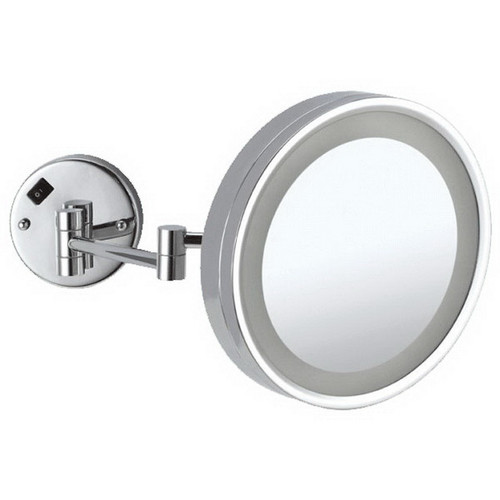 Ablaze Round Lit 3x Magnification Mirror with LED Light Chrome [129569]