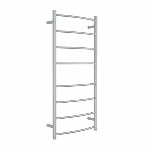 Thermorail Curved Round Heated Towel Ladder 82W 8 Bar 530 x 1120mm Polished Stainless Steel [129584]