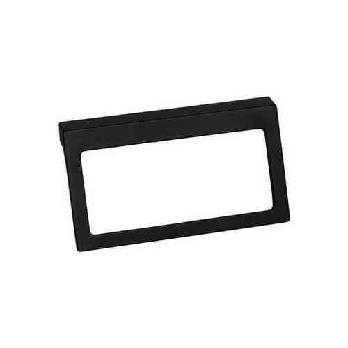 Time Square Towel Ring Matte Black [151065]